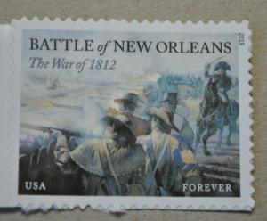 US Stamp, SC# 4952, Forever, Battle of New Orleans, 2015 issue, MNH