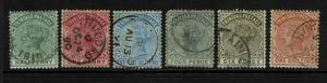 Trinidad SG# 106 - 112 Used  - S6268