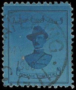 Cape of Good Hope / Mafeking Scott 179 Variety Gibbons 20 Used Stamp