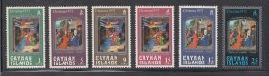 Cayman Islands Scott #314-319 MNH