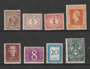 Netherlands a small MH lot of earlies
