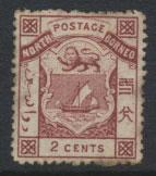North Borneo  SG 25  SC# 10 MH  please see scans & details