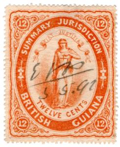 (I.B) British Guiana Revenue : Summary Jurisdiction 12c (1876)