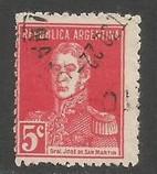 ARGENTINA 345 VFU Z2461-5
