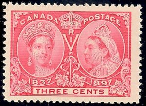 Canada #53  Mint  XF NH  Large stamp     - Lakeshore P...