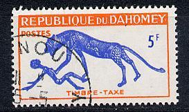 Dahomey Scott # J31, used