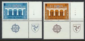 Isle of Man - SG 265-266 SC# 260-261 MUH  Europa