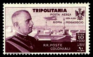 1934 Tripolitania #CB9 Air Post Semi-Postal - OGNH - F/VF - CV$43.34 (ESP#4161)