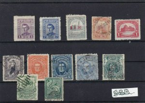 URUGUAY STAMPS ON STOCK CARD . REF 1781