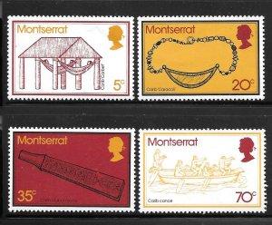 Montserrat 319-322: Carib Artifacts, MH, VF