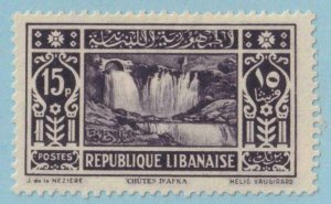 LEBANON 131  MINT HINGED OG * NO FAULTS EXTRA FINE !