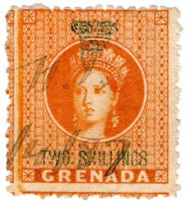 (I.B) Grenada Revenue : Duty Stamp 2/-