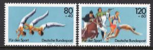 Germany B609-B610 Sports MNH VF