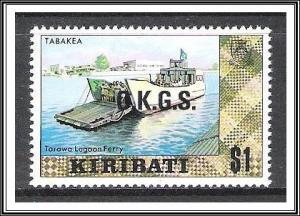 Kiribati #O13 Official MNH