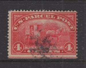 US 1913 4c Parcel Post Stamp Scott Q4 F