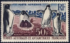 Scott #C4 Penguins MNH