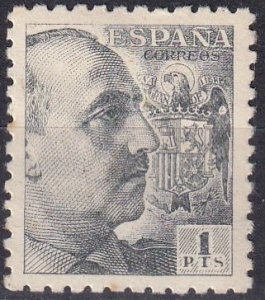 Spain #706 F-VF Unused CV $50.00 (Z1548)