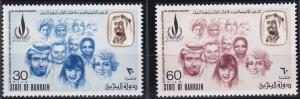 Bahrain 194-195 MNH (1973)