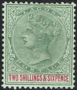 LAGOS 1887 QV 2/6