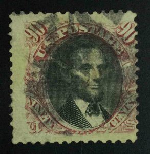 MOMEN: US STAMPS #122 USED LOT #55272