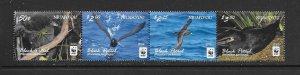 BIRDS - NIUAFO'OU #339-42  WWF  MNH