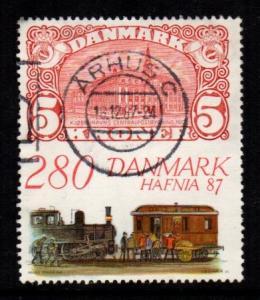 Denmark -  #843 HAFNIA 87 - Used