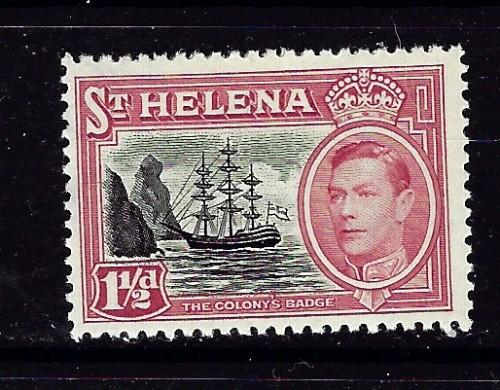 St Helena 137 Lightly Hinged 1949 Issue