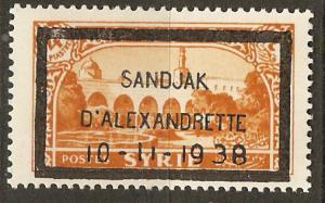 Alexandretta 16 Cer 16 MVLH VF 1938 SCV $27.50