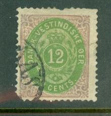 Danish West Indies 11 used CV $175