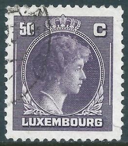 Luxembourg, Sc #222, 50c Used