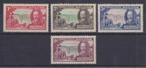 Southern Rhodesia Sc 33-36 MLH. 1935 Silver Jubilee cplt