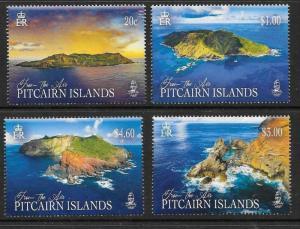 PITCAIRN ISLANDS 2018 PITCAIRN FROM THE AIR MNH
