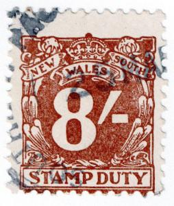 (I.B) Australia - NSW Revenue : Stamp Duty 8/-