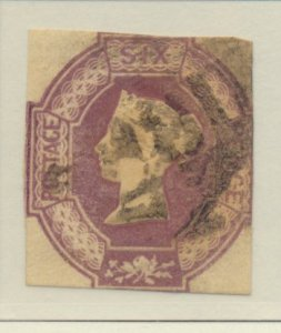 Great Britain Stamp Scott #7, Used - Free U.S. Shipping, Free Worldwide Shipp...