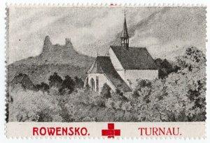 (I.B-CKK) Czechoslovakia (Great War) Cinderella : Red Cross (Turnov-Turnau)