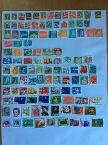 Switzerland 100+ stamps - Lot A