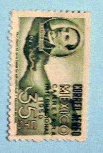 Mexico - C200, MNH. Pres. Juarez and Map. SCV - $0.30