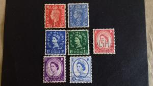 Great Britain Various  Daily stamps Used