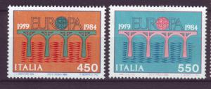 J21627 Jlstamps 1984 italy set mh #1594-5 europa