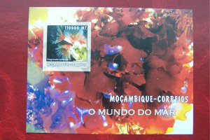 Mozambique 2002 MNH Marine Life Corals Imperf