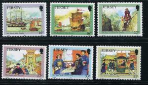 Jersey #687-92 MNH (Box2)
