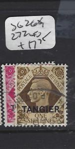 MOROCCO  (PP1208B)  KGVI  TANGIER  SG268, 272   VFU
