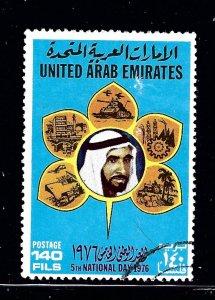 United Arab Emirates 84 Used 1976 issue
