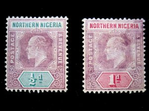 NORTHERN NIGERIA - 19a-20a - SS - MH - CAT VAL $12.00