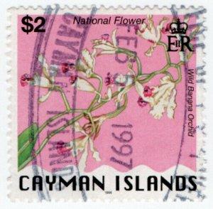 (I.B) Cayman Islands Revenue : Duty Stamp $2