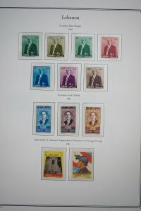 Lebanon Stamps mint NH 1960-1967 w/Commems & Air Mails