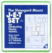 Mounts Showgard, assortment 8 sizes(320ea. Black)(00689B)