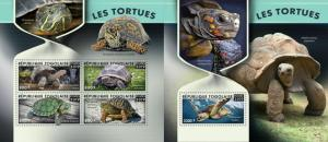 Z08 TG190127ab TOGO 2019 Turtles MNH ** Postfrisch