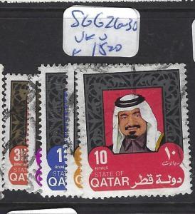 QATAR  (PP2609B) SHEIKH TO   10R  SG 626-630   VFU