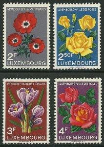 Luxembourg - Scott 310-13 VF MNH